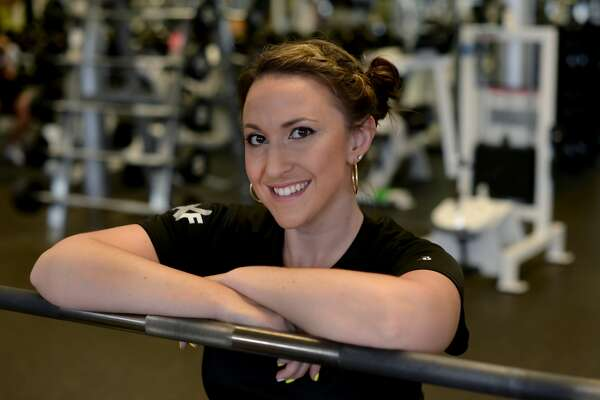 """Andrea root is a relatively new trainer at NY Sports Club in Greenwich but has a unique training style based on balance and stability. She incorporates pillars and bars into her programs. The goal is to change lifestyles and expose clients to activities they thought they'd never be able to do. She says she loves """"the feeling money can't touch"""". 6 Liberty Way, Greenwich, CT"""