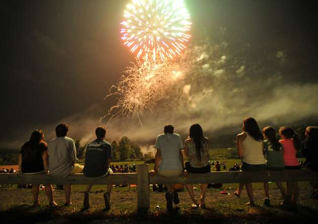 West Haven The town fireworks have been moved to Labor Day weekend. Photo: Jason Rearick