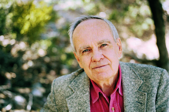 Author Cormac McCarthy