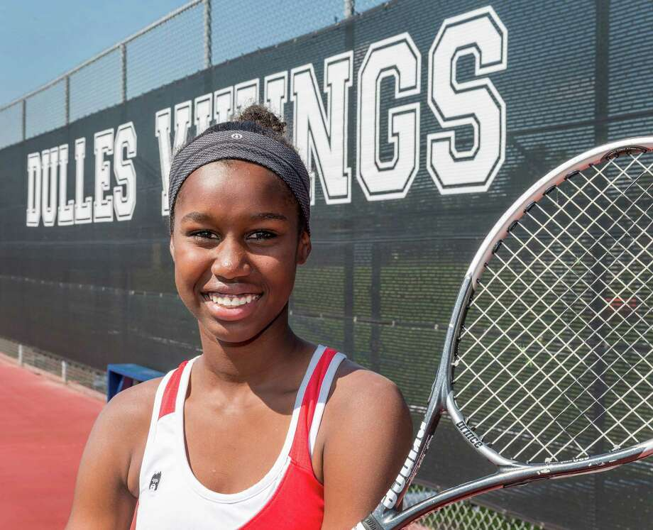 Marlee Zein, age 14, is the Chronicle's All-Greater Houston girls tennis athletes of the year. Dulles High School, 500 Dulles Avenue, Sugar Land. Thursday  June 4, 2015 (Craig H. Hartley/For the Houston Chronicle) Photo: Craig Hartley, Freelance / Copyright: Craig H. Hartley