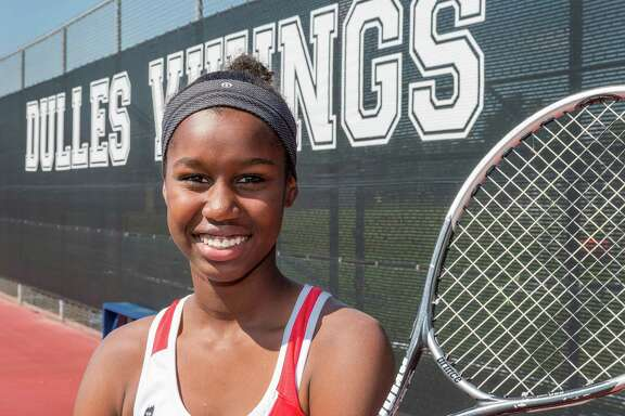 Marlee Zein, age 14, is the Chronicle's All-Greater Houston girls tennis athletes of the year. Dulles High School, 500 Dulles Avenue, Sugar Land. Thursday  June 4, 2015 (Craig H. Hartley/For the Houston Chronicle)