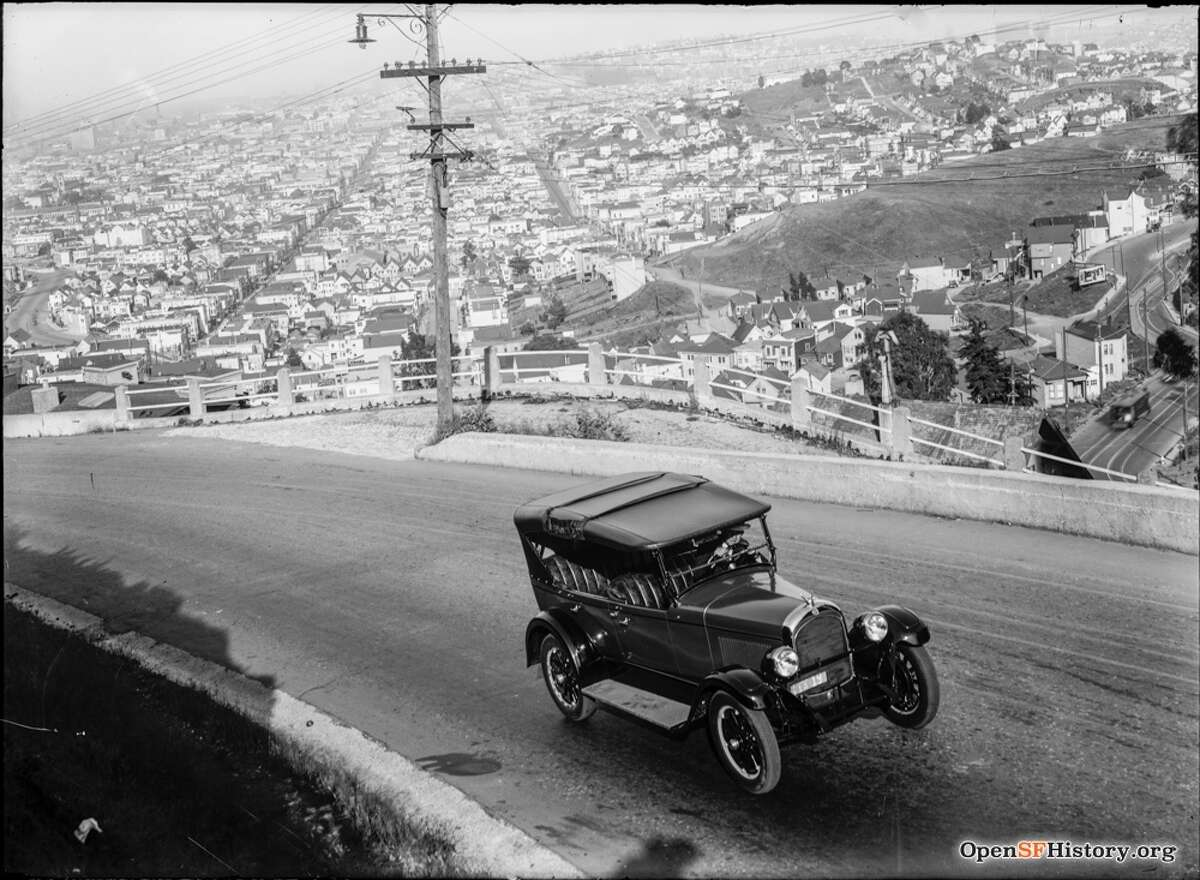 The 20s:  Twin Peaks Blvd as seen in 1924. Courtesy of OpenSFHistory.org
