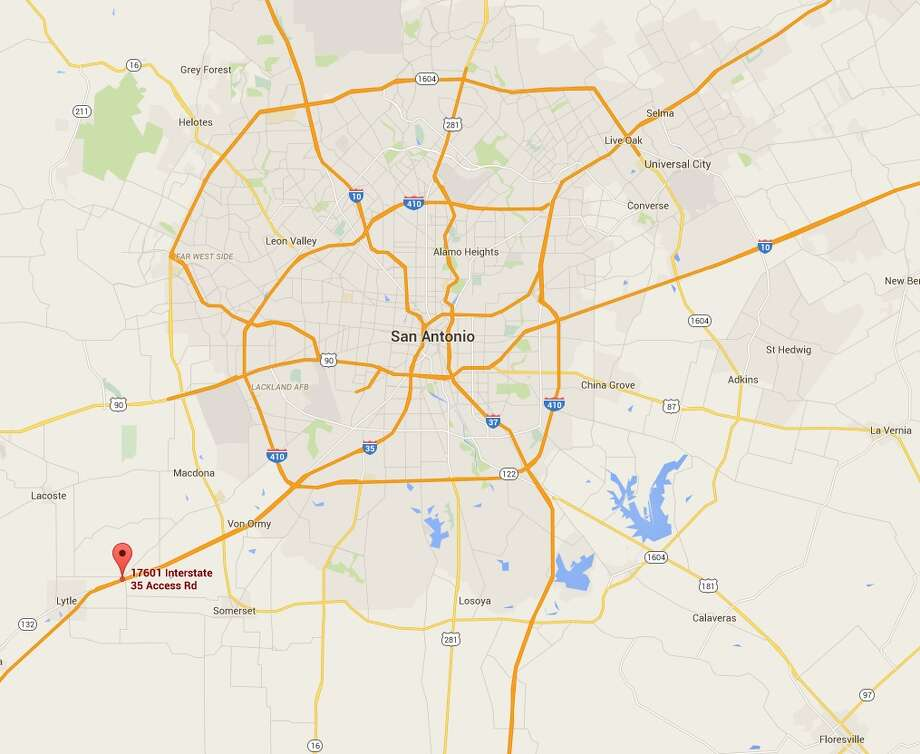 Two men died on Tuesday morning from apparent fume inhalation while working in Southwest Bexar County. Photo: Google Maps
