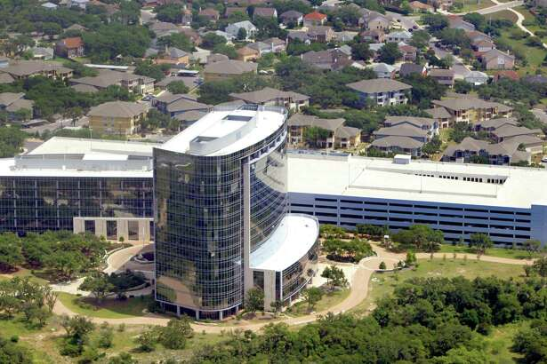 Andeavor's headquarters in San antonio. The company's president and CEO and two other executives will retain a place at the top of the combined refiner when Marathon Petroleum Corp. finishes its acquisition of Andeavor.