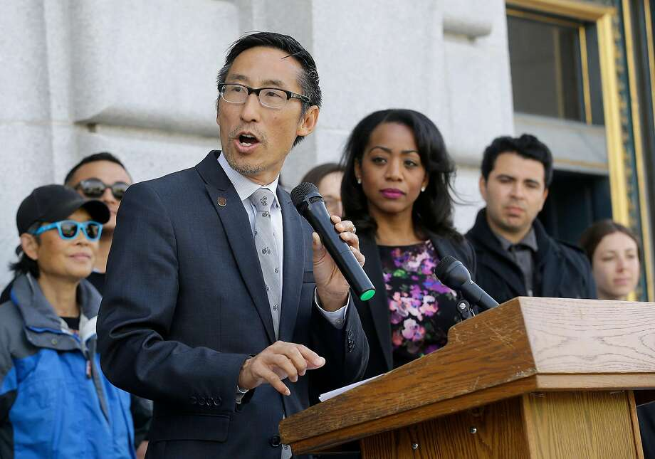 Former Supervisor Eric Mar was fined for ethics violations for not disclosing the value of gift tickets to Outside Lands. Photo: Jeff Chiu, Associated Press