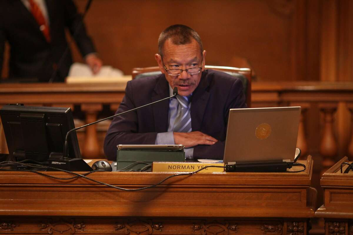 Supervisor Norman Yee, during a Board of Supervisors meeting which discussed David Chiu's proposed legislation to regulate Airbnb and other short-term rentals in San Francisco on October 7th 2014.