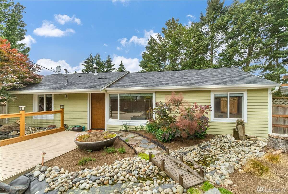 The first home, 1316 N. 122nd St., is listed for$439,950. The four bedroom, three bathroom home is in Haller Lake. The 1,020 square-foot home has a large fenced yard and RV parking. You can see the full listing here.