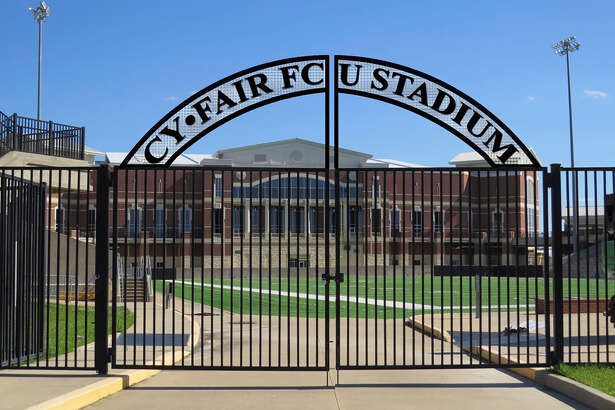 """A stadium naming rights deal between CFISD and Cy-Fair Federal Credit Union, approved by the CFISD trustees in June, will name the Berry Center stadium """"Cy-Fair FCU Stadium"""" effective July 1.    A stadium naming rights deal between CFISD and Cy-Fair Federal Credit Union, approved by the CFISD trustees in June, will name the Berry Center stadium """"Cy-Fair FCU Stadium"""" effective July 1."""