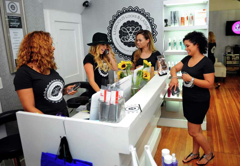Luscious locks and lashes expanding location in shelton for Yasmin beauty salon