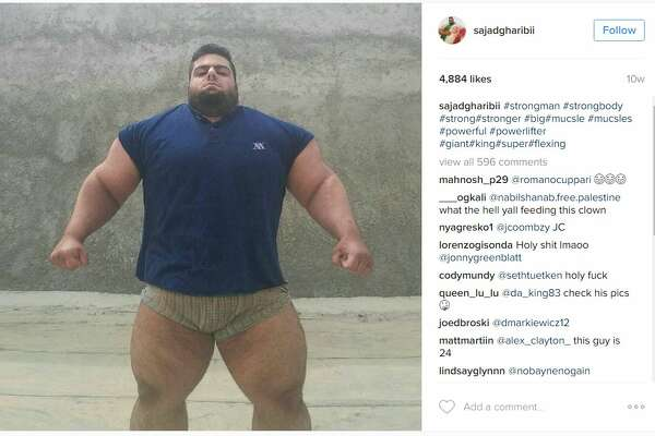 "Sajad Gharibi, a bodybuilder out of the Middle East, is getting a lot more social media buzz for his physique, being dubbed both the ""Iranian Hulk"" and ""Persian Hercules."""