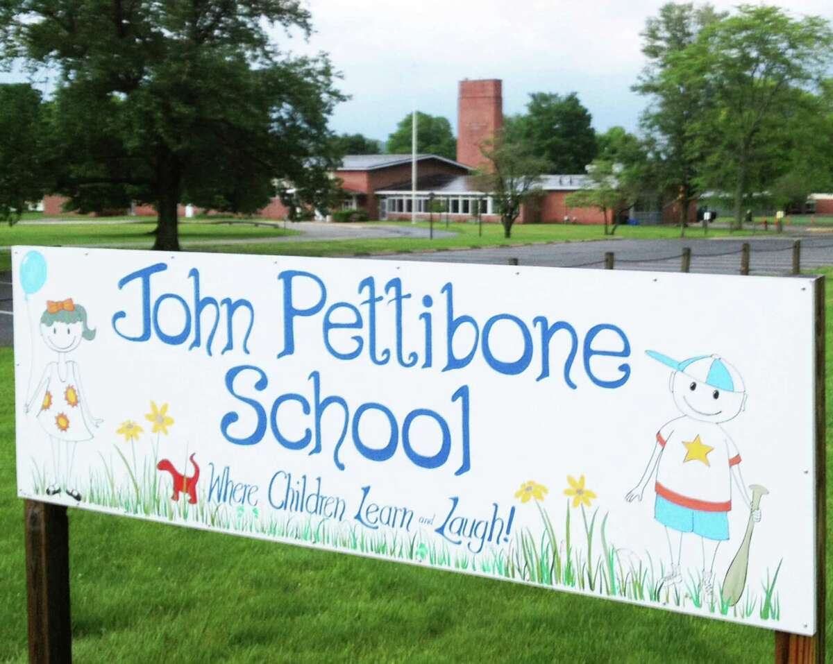 John Pettibone School, 'where children learn and laugh,' is at risk of closure in New Milford to save money for the town. May 2014