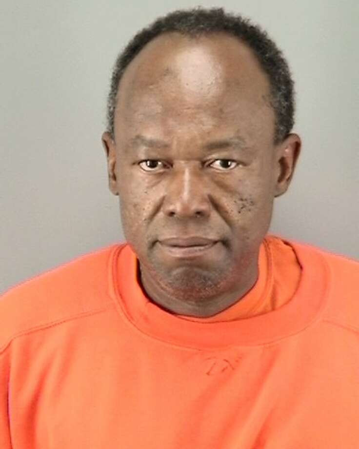 Emmaunel Morancy, 50, was booked into County Jail Sunday in connection with a hate-crime attack during San Francisco Pride weekend. Photo: San Francisco Police Department / /