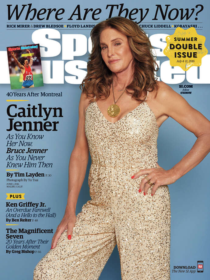 Caitlyn Jenner on the cover of Sports Illustrated Photo: Yu Tsai / Yu Tsai / Associated Press / Sports Illustrated