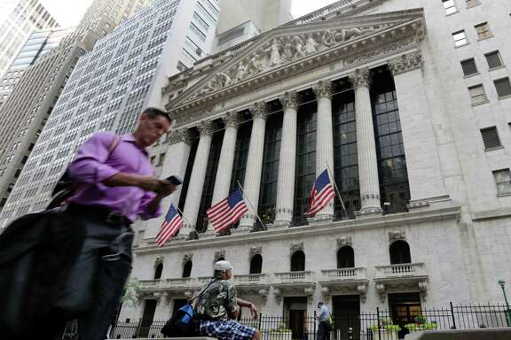 After a two-day slump, the Dow Jones industrial average gained 269.48 points to 17,409.72 Tuesday.