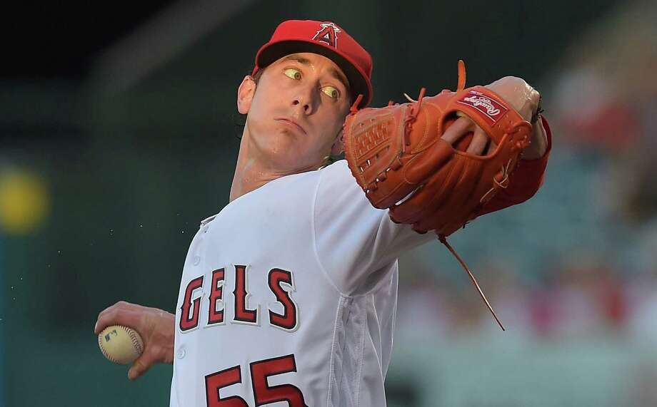 ANAHEIM, CA - JUNE 28:  Tim Lincecum #55 of the Los Angeles Angels in the first inning of the game against the Houston Astros at Angel Stadium of Anaheim on June 28, 2016 in Anaheim, California. Photo: Jayne Kamin-Oncea, Getty Images / 2016 Getty Images