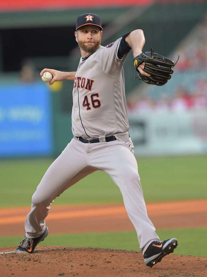 Scott Feldman gave the Astros five solid innings while starting in place of Lance McCullers. Photo: Jayne Kamin-Oncea, Stringer / 2016 Getty Images
