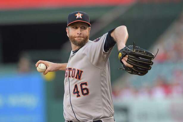 Scott Feldman gave the Astros five solid innings while starting in place of Lance McCullers.