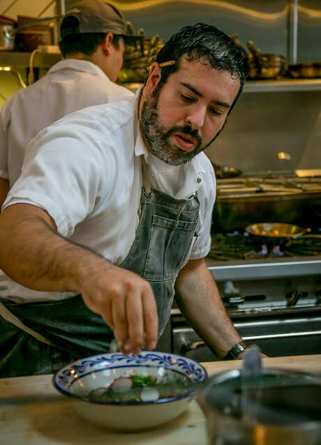 Chef Mark Liberman of Fenix in San Francisco. Photo: John Storey, Special To The Chronicle
