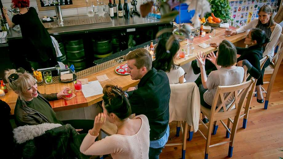 People have dinner at Fenix in San Francisco. Photo: John Storey, Special To The Chronicle