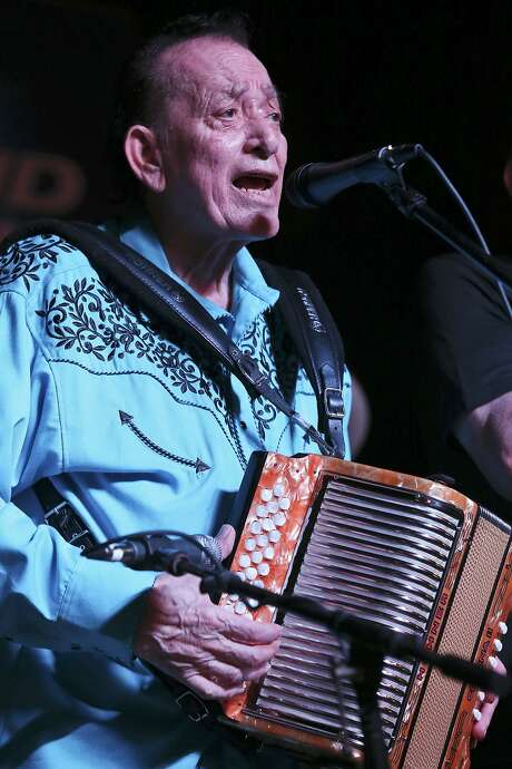 Yes, Flaco Jimenez and a host of other Tejano performers deserve to be as heralded as rock 'n roll greats. Their music is quintessentially American. Here, Jimenez performs during the 34th annual Tejano Conjunto Festival in 2015 at Rosedale Park. Photo: Edward A. Ornelas /San Antonio Express-News / © 2015 San Antonio Express-News