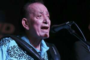 Yes, Flaco Jimenez and a host of other Tejano performers deserve to be as heralded as rock 'n roll greats. Their music is quintessentially American. Here, Jimenez performs during the 34th annual Tejano Conjunto Festival in 2015 at Rosedale Park.