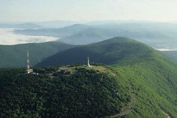 The summit of Mount Greylock. (Mass.gov)