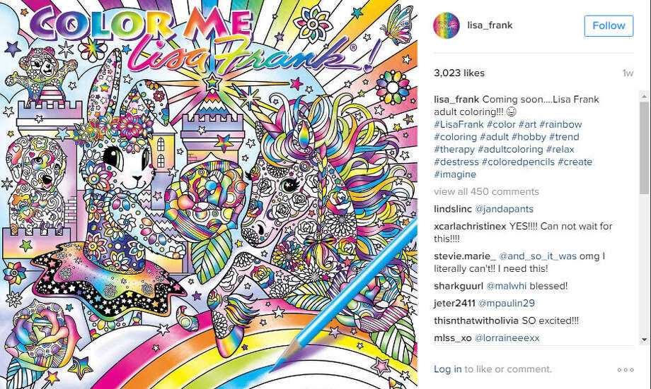 Lisa Frank is releasing a coloring book, and it's literally a 90s dream come true. Take a look at some other 90s favorites that also deserve a comeback.Photo: @lisa_frank