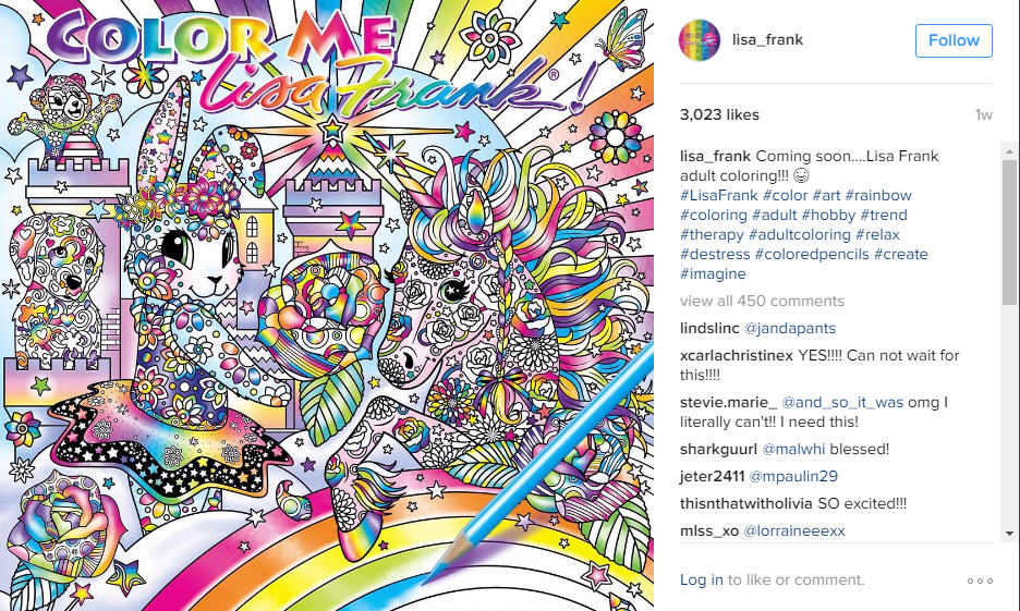 Lisa Frank adult coloring book is a dream come true Houston