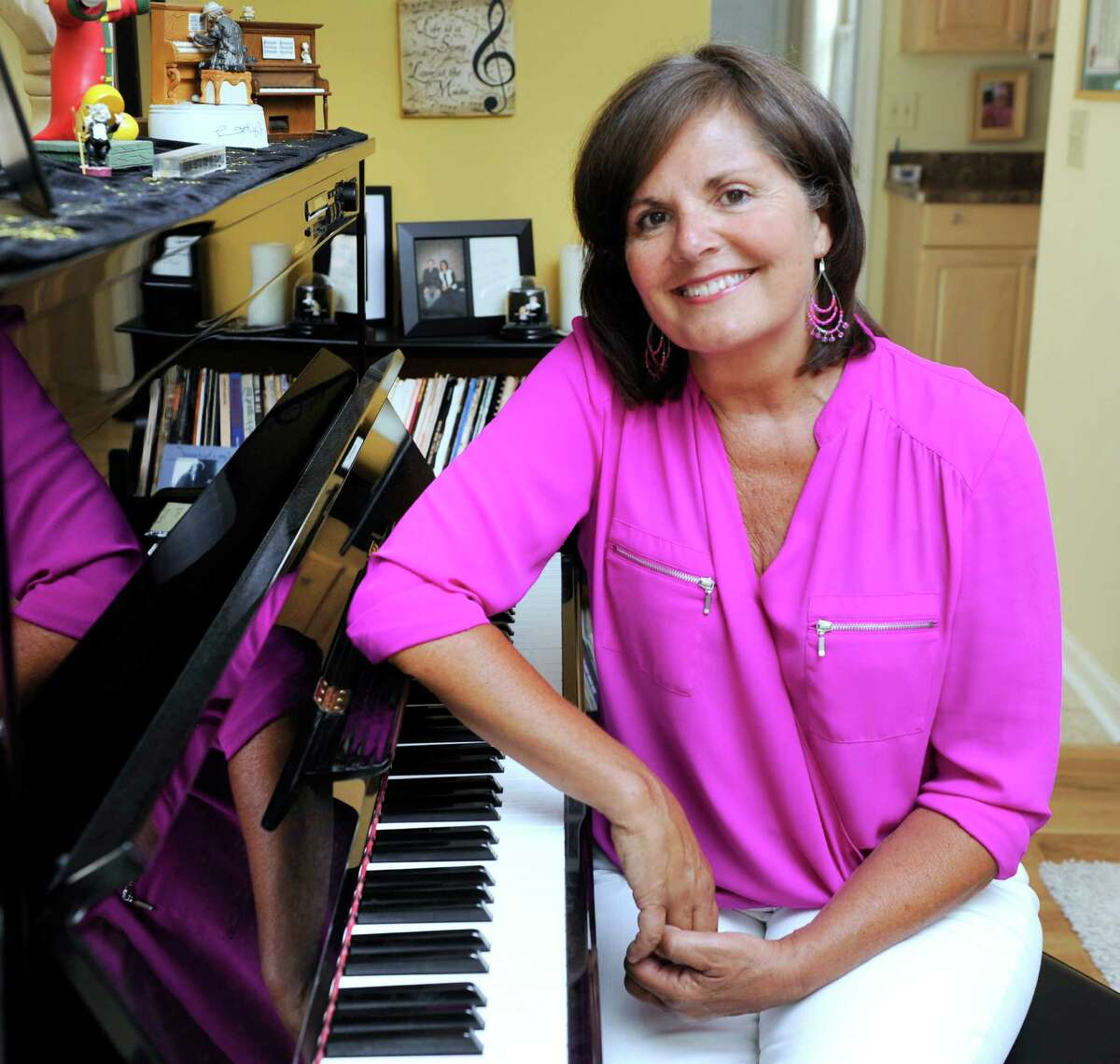 Linda Wrenn, of New Milford, is starting a music group for children, Hearts in Harmony Jr.