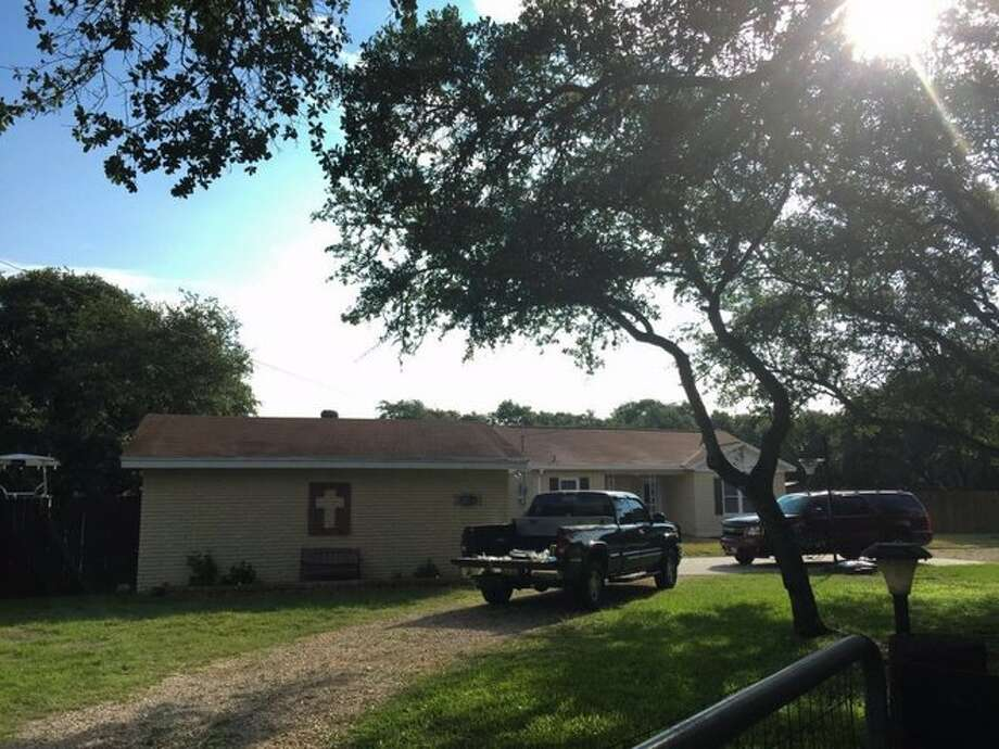 Aransas Pass police are investigating a domestic violence related shooting that left a man, his wife and a 12-year-old girl dead early Wednesday at this house in 1700 block of West Highland Avenue.