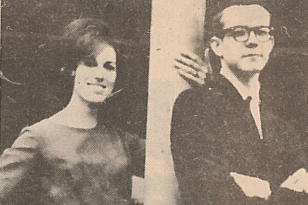 Sharon Crabbe McKenzie and Haywood Walker were voted Most Sophisticated of French High School's Class of 1964.