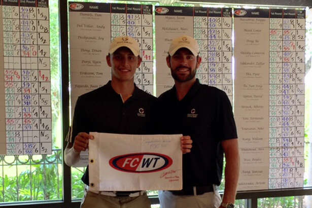 Westporter Adam Friedman, left, was named Future Collegiate World Tour All-American through his performances in junior golf tours in events throughout the United States.