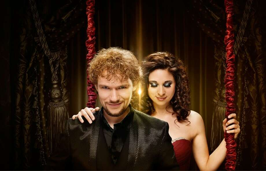"Thommy Ten and Amelie from Austria, known as""The Clairvoyants,"" and featured on ""America's Got Talent,"" will star in ""The Great BIG Magic Show"" on July 5 in San Antonio. Photo: Courtesy/IBM"