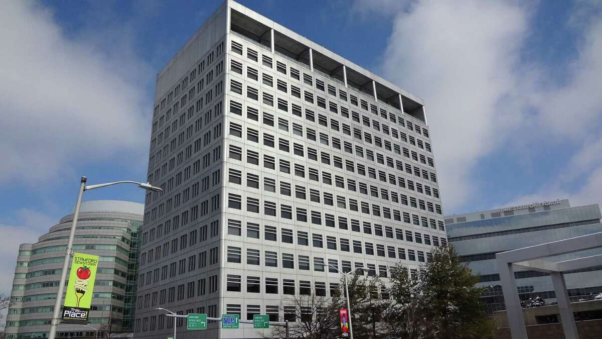 Charter Communications' Stamford headquarters are located at 400 Atlantic St.