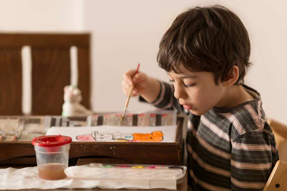 49 things your kids could be doing this summer besides sitting in front of a screen Paint with water colors Photo: Anna Pekunova/Getty Images