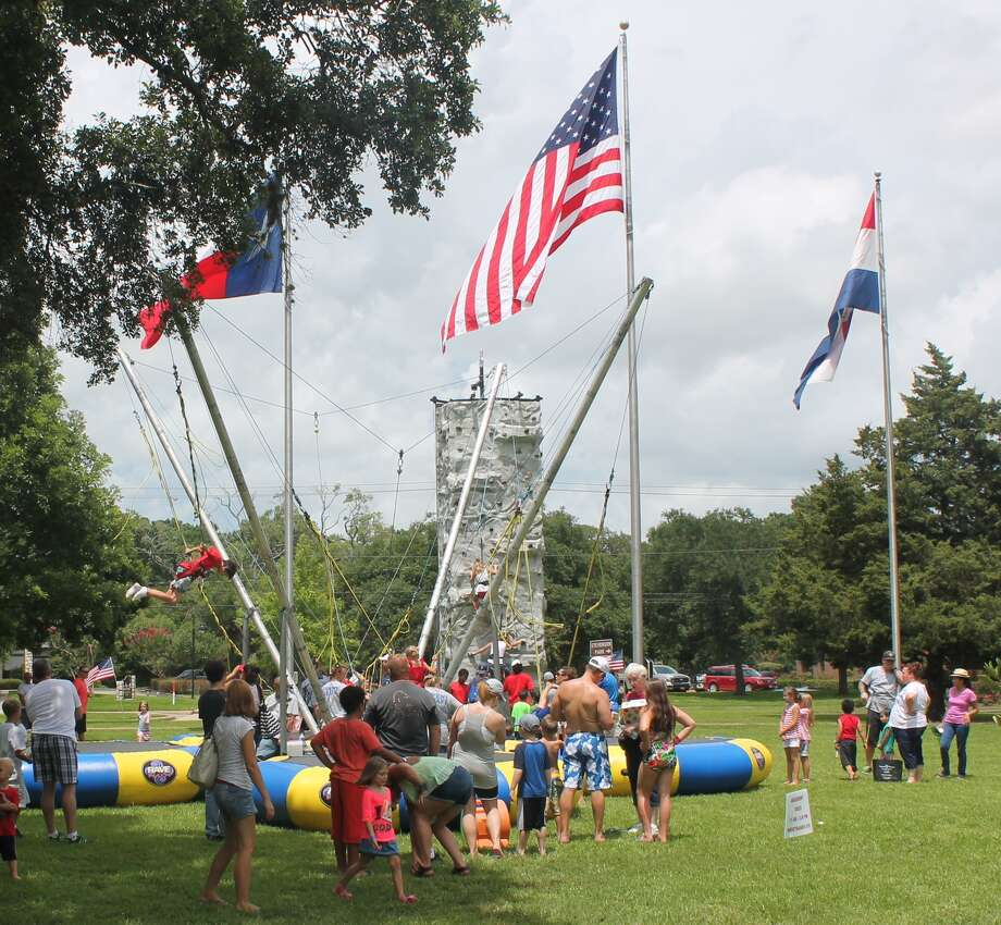 """The """"Quad Bungee Jumper"""" was one of the most popular rides last year at Friendswood's Fourth of July celebration at Centennial Park. Activities begin this year at 7:30 p.m. July 4 at the park."""