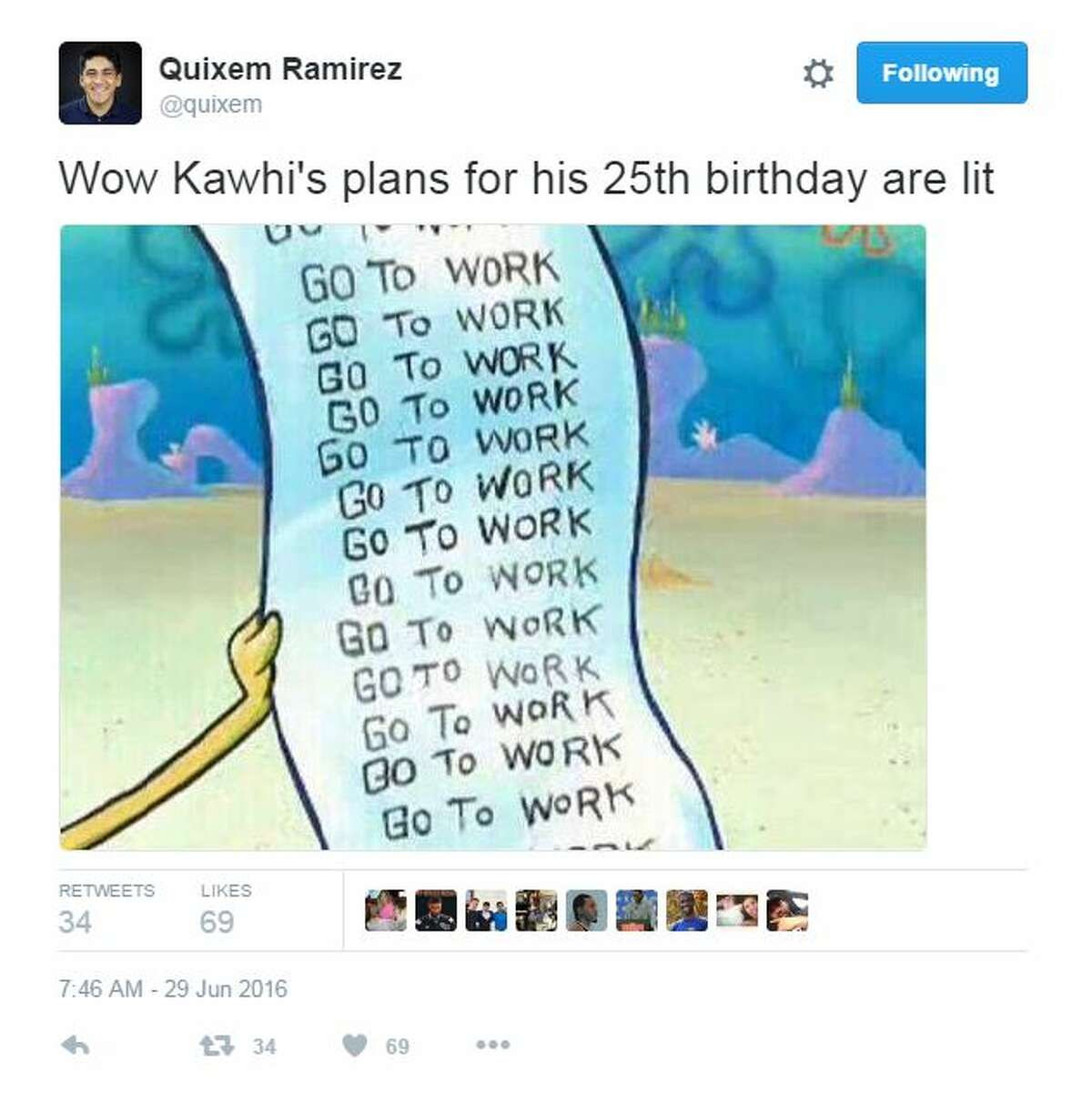 Go to work: Many speculated he'd be working in the gym for his birthday.