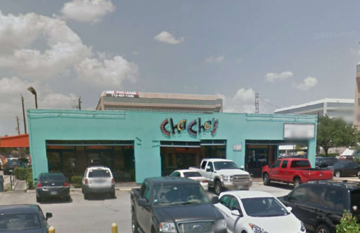Chacho's #6 Address: 2700 South Loop West, Houston, Texas 77054 Demerits: 21 Inspection highlights: Internal temperature of cheese observed at an improper temperature. Observed blood on interior surfaces of reach-in cooler #3 and dirt on gasket of reach-in cooler #2. Observed soda nozzles not cleaned as often as necessary to keep the equipment free of accumulation of dirt. Observed hand-washing sink blocked by ice machine.