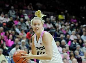 Rising junior guard Courtney Ekmark has left UConn and is transferring to Arizona State.