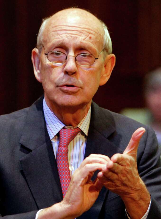 Supreme Court Justice Stephen Breyer sided with the court's conservative bloc last week on a case that redefines illegal search and seizure. Photo: Steve Helber /Associated Press / AP