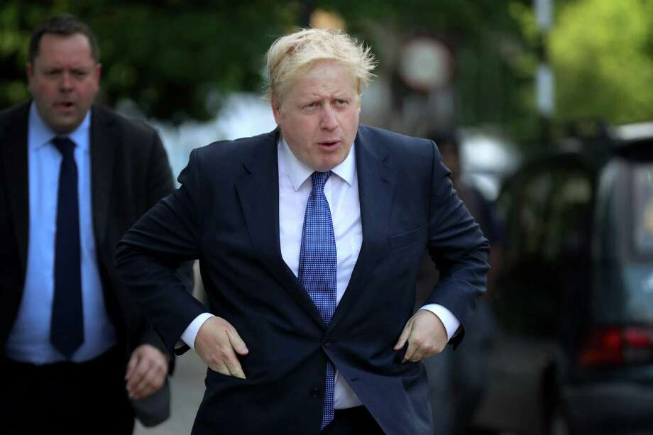 One of the Brexit snake oil salesmen is former London Mayor Boris Johnson, who is now backtracking somewhat, counseling a go-slow approach in divorcing Britain from the European Union. U.S. voters should pay attention when it comes to presumptive GOP presidential nominee Donald Trump. Photo: Christopher Furlong /Getty Images / 2016 Getty Images