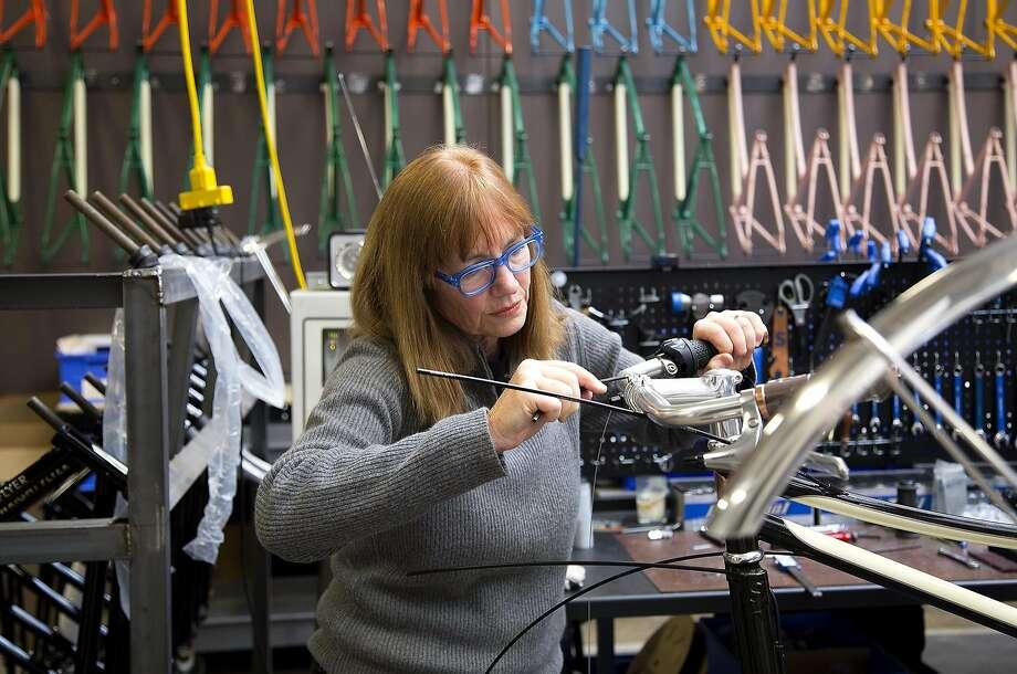 Sky Yaeger of San Rafael is director of bicycle development for Shinola. Photo: Shinola