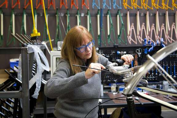 Sky Yaegar of San Rafael is director of bicycle development at luxury goods brand Shinola. Her previous experience includes 30 years at companies including Bianchi, Spot Brand, Swobo Bikes and Suntour Components.