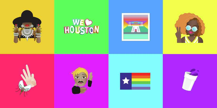 Houmojis: If you don't know what one is, ask a Houstonian. Photo: Primer Grey, Illustrator Hannah McClure