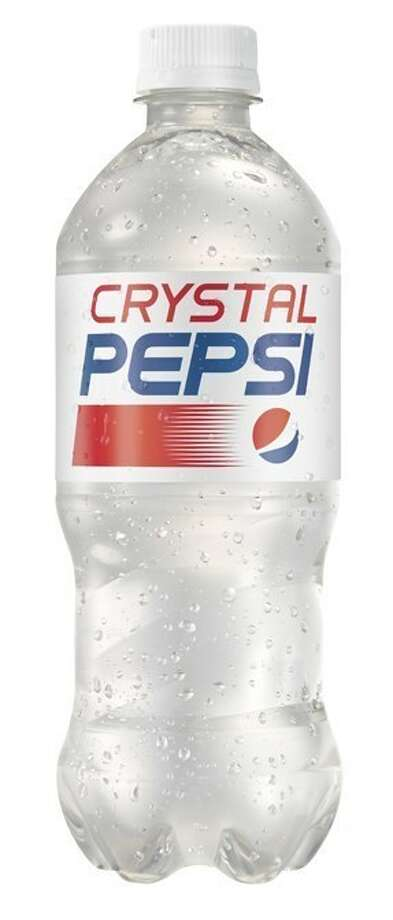 Crystal Pepsi will be available for a limited time in Canada and the U.S. this summer. Photo: Pepsi