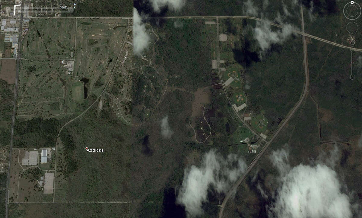 Clear details of Addicks Reservior can be seen in March 2016. Google Earth has updated it's satellite photos and they show the extreme extent of flooding that Houston and surrounding areas experienced during the April floods.