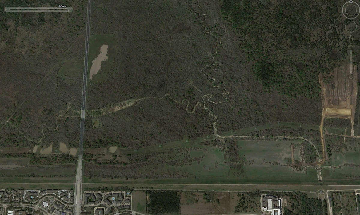 A look at Texas 6 near Addicks Reservoir in Houston in March 2016 before the floods hit Texas.Google Earth has updated its satellite photos and they show the extreme extent of flooding that Houston and surrounding areas experienced in the spring.