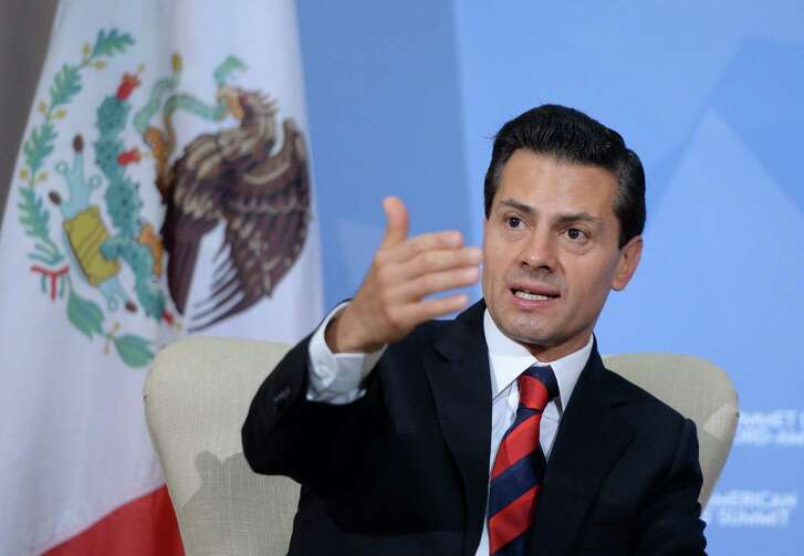 """Responding to allegations that he plagiarized part of his undergraduate law thesis, Mexican President Enrique Peña Nieto's office attributed the lack of citation to """"style errors."""""""