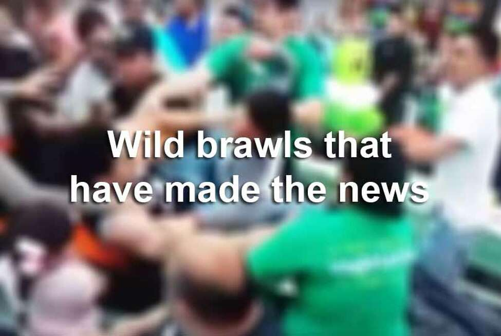 From hilarious cases of road rage to serious school fights, here's a run down of brawls that have gone viral.
