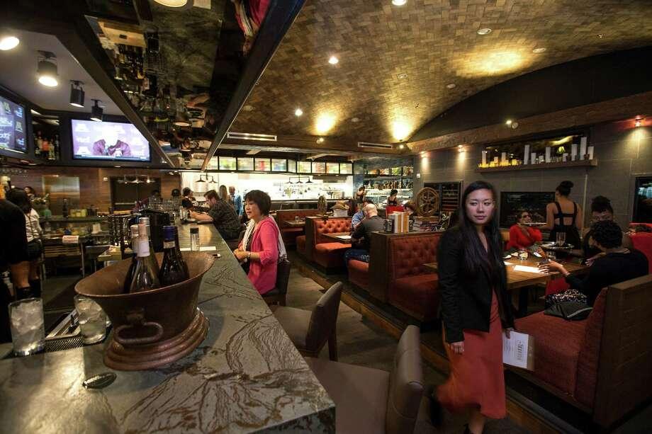 The Tuck Room restaurant is shown at iPic Theaters in the River Oaks District in Houston. ( Brett Coomer / Houston Chronicle ) Photo: Brett Coomer, Staff / © 2015 Houston Chronicle